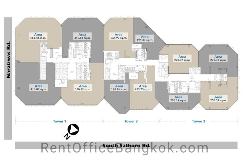 Empire-Tower-Rent-Office-Bangkok-floorplan