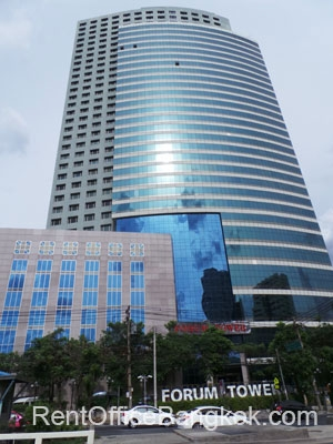 Forum Tower Bangkok office space for rent