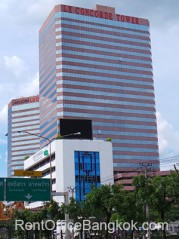 Le Concorde office tower Bangkok office space for rent