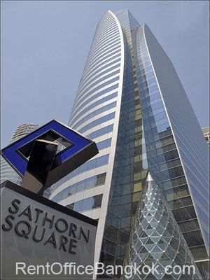 Sathorn Square Bangkok office space for rent